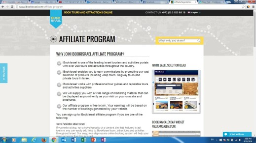 IbookIsrael Affiliate Program